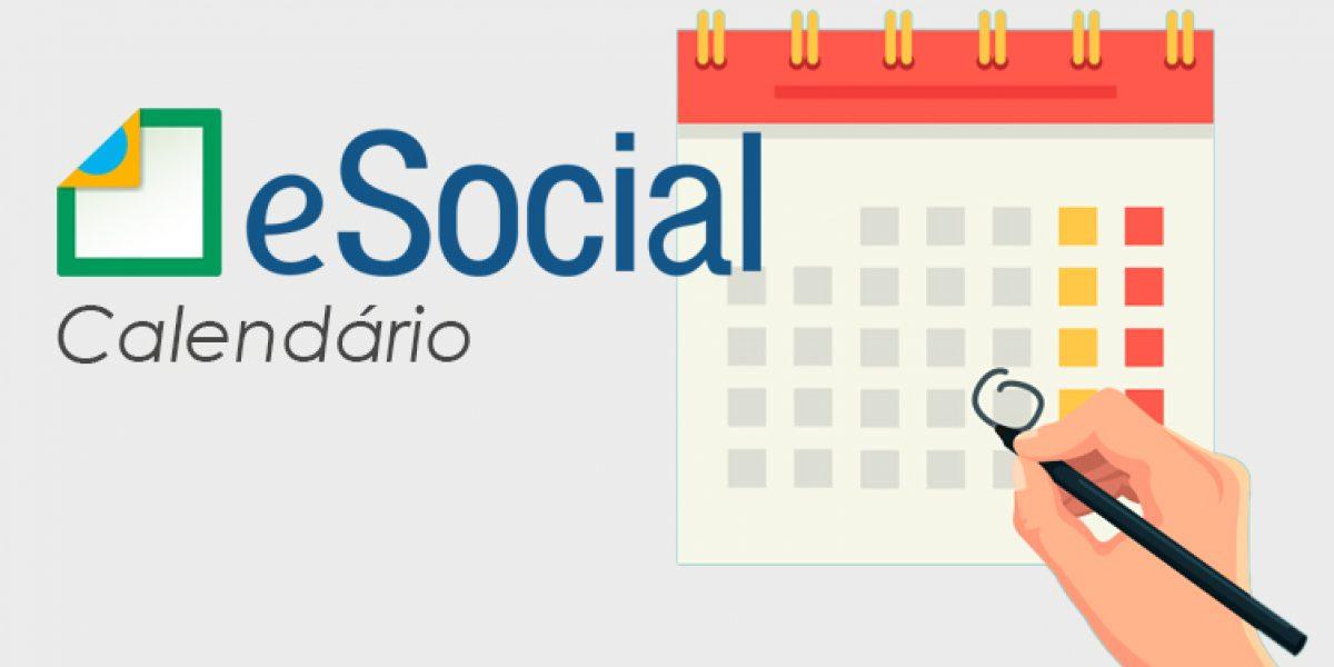 Novo Cronograma do eSocial.